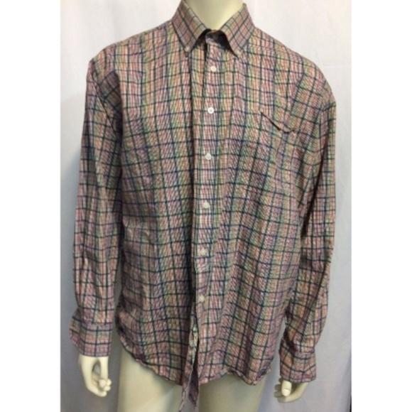 Alan Flusser Other - Alan Flusser Plaid Dress Shirt Long Sleeve